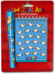 Blue Notepad Set