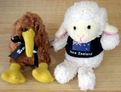 Finger Puppets Sheep or Kiwi